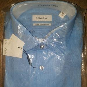Calvin Klein Mens Dress Shirt 15 1/2 34/35